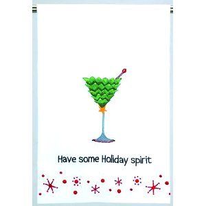 Have Some Holiday Spirit Towel