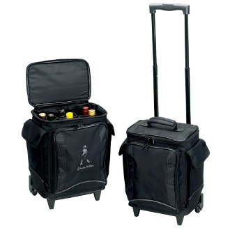 Wine Luggage for 6 Bottles with Company Logo (5 Pieces)