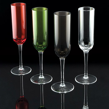 Acrylic Champagne Glasses