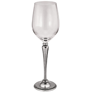 Bead Wine Balloon Glasses