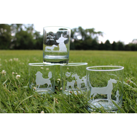 Kennel Club Double Old Fashioned Glasses (set of 4)