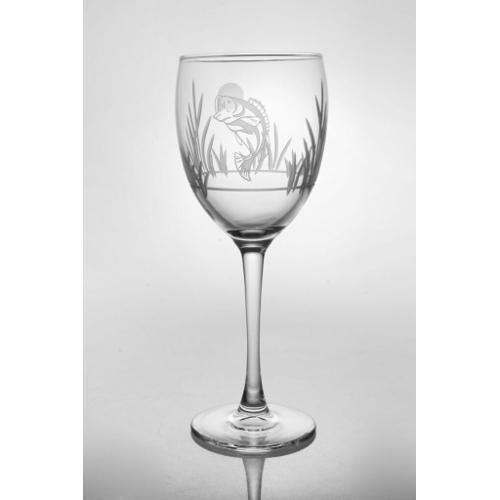 Lake Fish Wine Goblets (set of 4)