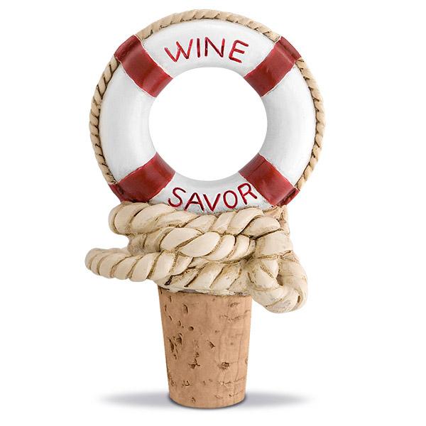 Nautical Wine Savor Bottle Stopper