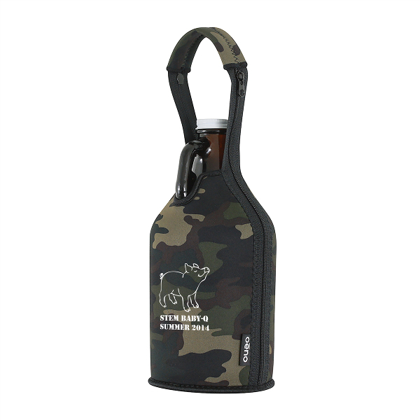Beer Growler Carrier with Company Logo (Set of 36)