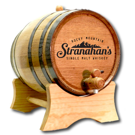 Distillery Branded White Oak Barrel for Aging Liquor