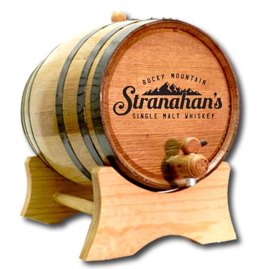 Distillery Branded White Oak Barrel for Aging Liquor