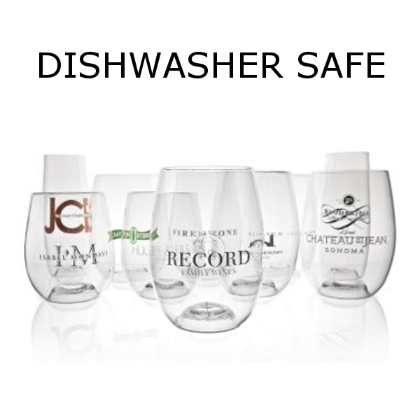 GoVino Dishwasher Safe Cocktail Glasses with Personalized Logo (Set of 288)