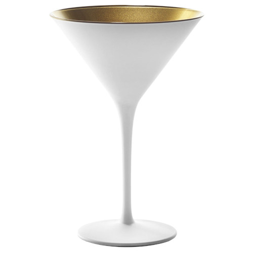 Blanc Martini Glass Gold Interior Set of 6