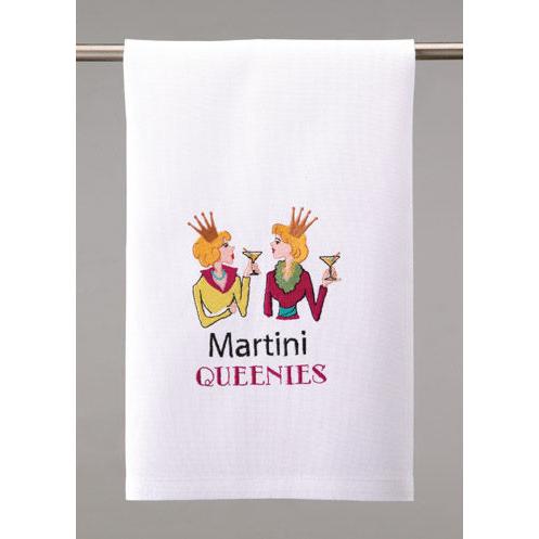 Martini Queenies Towel