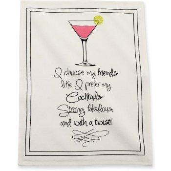 Martini Friends Towel