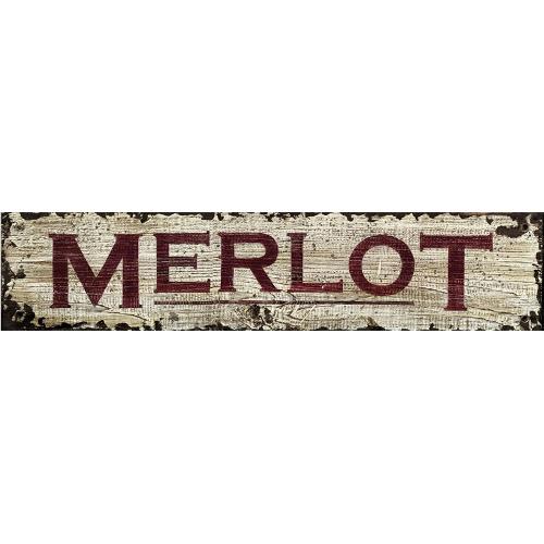 Personalized Merlot Wine Sign