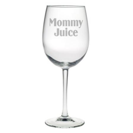 Mommy Juice All Purpose Wine Glasses (set of 4)