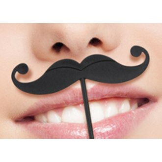 Lip Service Mustache Party Picks