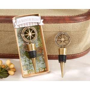 Compass Wine Bottle Stopper