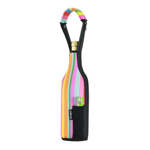 Neo-Tote Wine Solo - Stripes