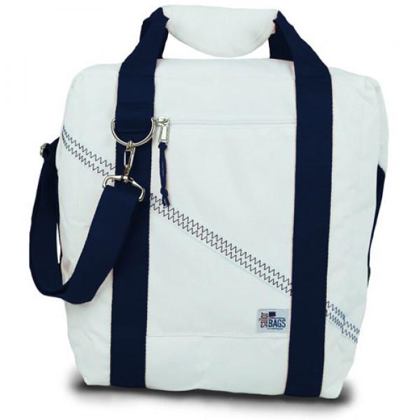 Newport 24-Pack Beer Cooler Bag with Blue Straps