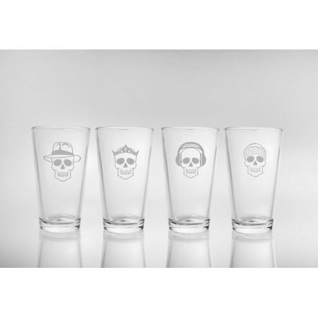 Numbskulls Pint Beer Glasses (set of 4)