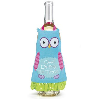 Wine Owl Apron