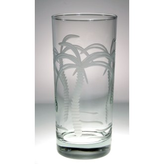 Palm Tree Cooler Glasses