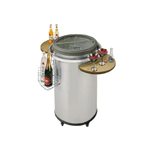 Vinotemp Rolling Party Beverage Cooler