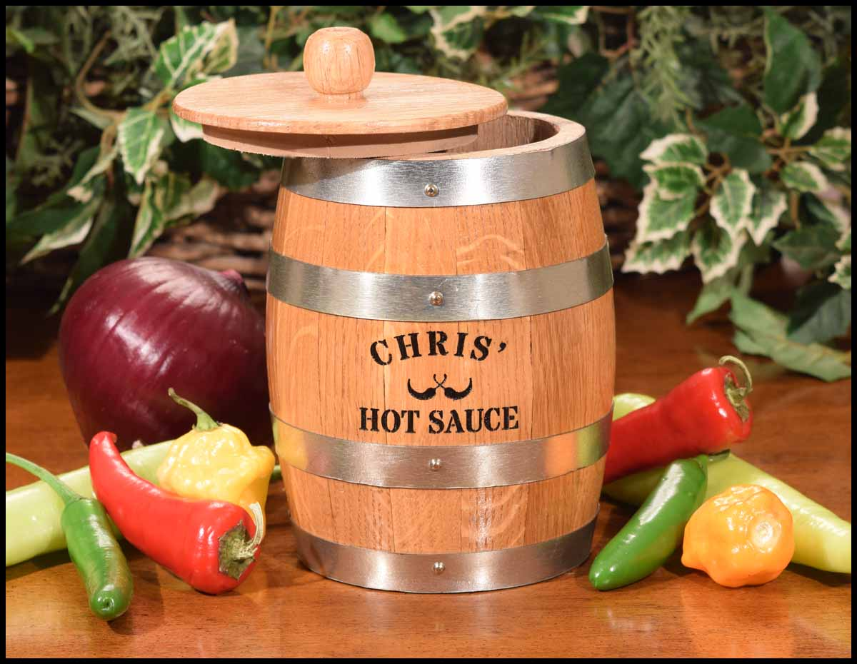 The Amazing Pepper Barrel Hot Sauce Making Kit