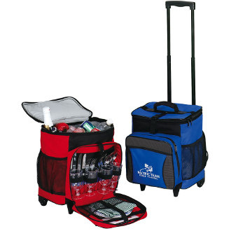 Picnic On The Go Rolling Cooler