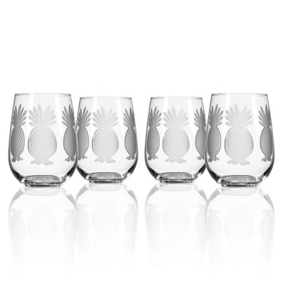 Pineapple White Wine Tumblers