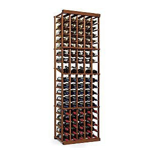 N'finity Wine Rack Kit 5 Column with Display Dark Walnut