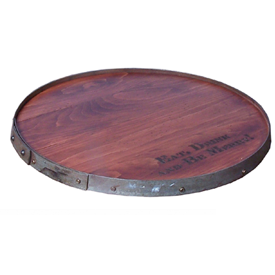 Personalized Raised Ring Lazy Susan