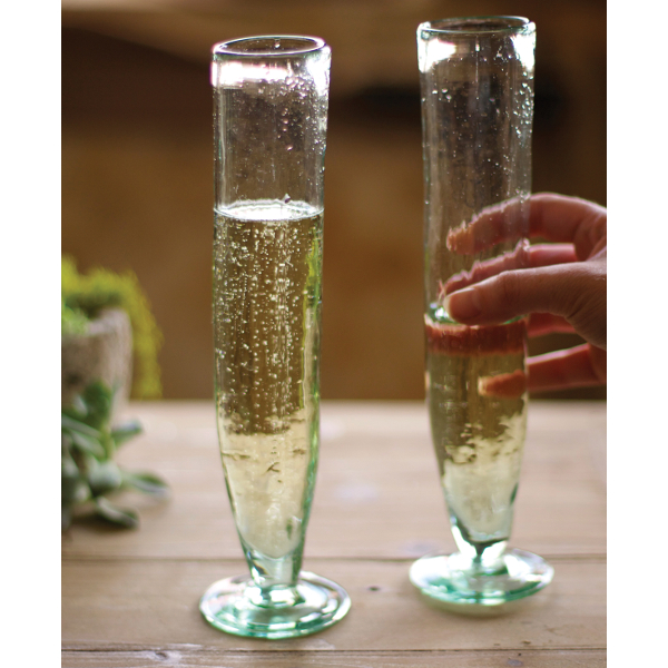 Tall Champagne Flutes (set of 6)