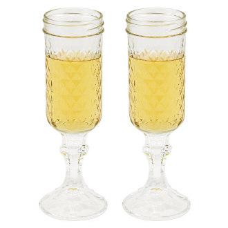 The RedNeck Champagne Glasses (set of 2)