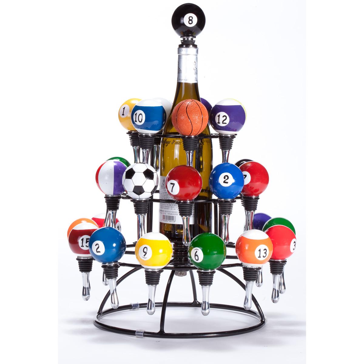 Revolution Wine Bottle Stopper Carousel