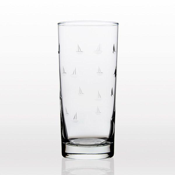 Sailing Cooler Highball Glass (15oz) Set of 4
