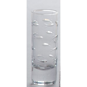 School of Fish Cordial Glasses (set of 4)