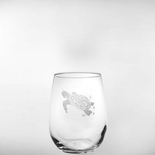 Sea Turtle Stemless Wine Tumbler (17Oz) Set Of 12