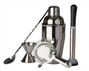 Stainless Steel Bar Gift Set of 5