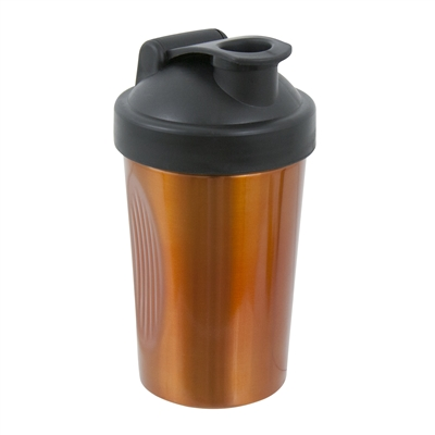 Shake Rattle and Pour Cocktail Shaker, Copper