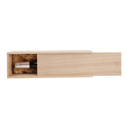 Single Bottle Wooden Wine Gift Box