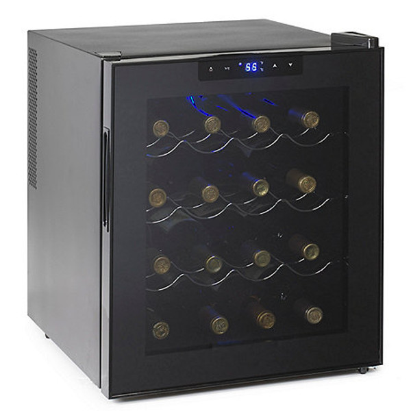 Wine Enthusiast Silent 16 Bottle Touchscreen Wine Refrigerator