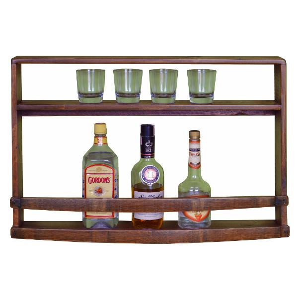Spirits Wine Bar Wall Mounted Rack