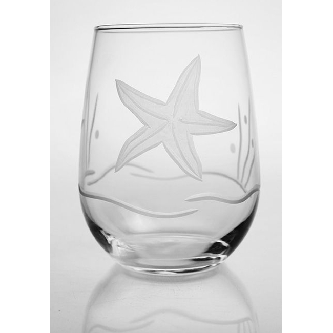 Starfish Stemless Tumbler (set of 4)