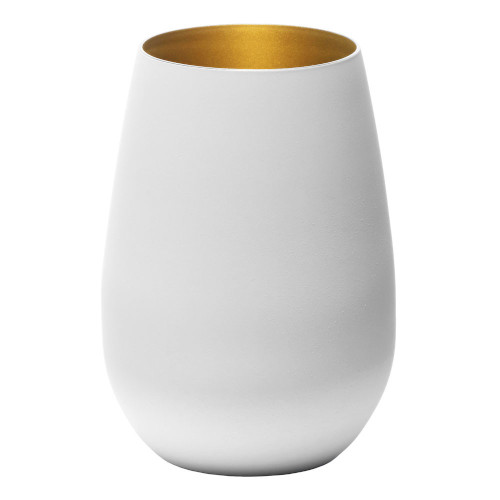 Blanc Stemless Gold Interior Set of 6