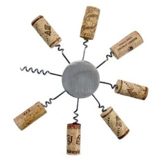 Sunburst Wine Cork Trivet