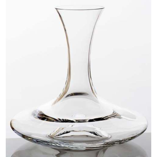 Sure Handed Wine Decanter with Finger Grip