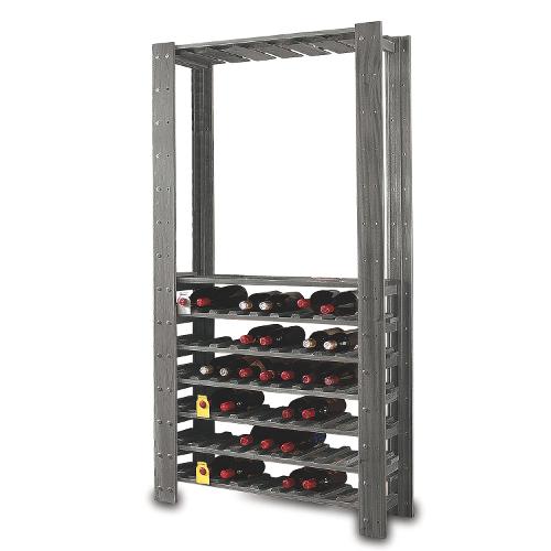 Swedish Wine Center Wine Rack - Stone Gray