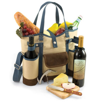 Picnic Time Wine Country Picnic Tote