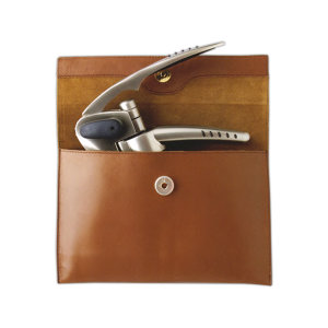 Swift Set Leather Pouch holds SwiftPull, SwiftKut & extra worm