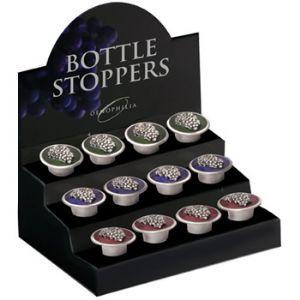 Pewter Grape Wine Bottle Stopper