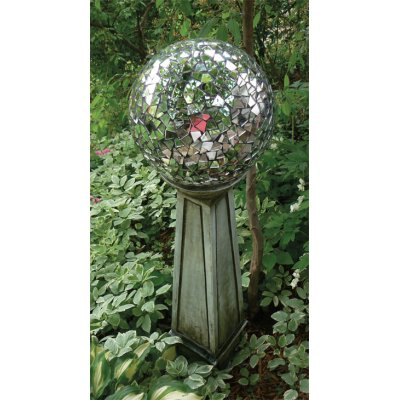 Garden Party Mosaic Mirror Ball