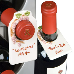 Vine Wine Bottle Hanging Tags